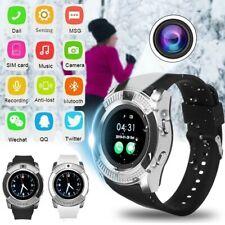 V8 Smart Wrist Watch Wireless Camera SIM GSM Card Samsung For iOS Android