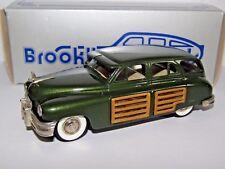 Brooklin modelos 1948 Packard estación Sedan Club De Coleccionistas Verde 1/43 BRK43X