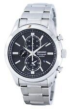 Reloj Seiko cronógrafo cuarzo alarma SNAF67 SNAF67P1 SNAF67P de los hombres