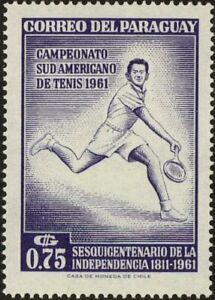 PARAGUAY - 1962 - 28th South American Tennis Championships - MNH - Scott #631