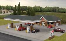 Walthers Cornerstone HO Scale Building/Structure Kit Modern Gas Station/Store