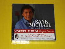 COFFRET 1 CD + 1 PENDENTIF FRANK MICHAEL BONJOUR L AMOUR