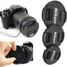 2PCS 49mm 52mm 55 58 62 67 72 77 82 mm Front Lens Cap Cover for Nikon Camera