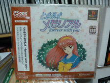 Tokimeki Memorial Forever With You PS One Books New Factory Sealed Japan Import