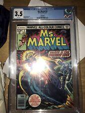 Ms Marvel 3 1977 CGC 3.5