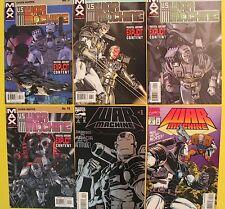 6 Marvel Comics WAR MACHINE 1 & 2 (1994) & U.S. WAR MACHINE MAX 3 6 9 10 (2001)