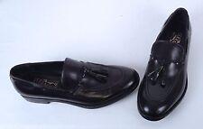 Salvatore Ferragamo Tassel Loafer- Black- Size 10.5 D $598  (S1)