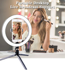 10 inch dimable LED Light Ring phone holder Live streaming Video Selfie Makeup