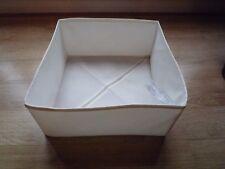 IKEA wilj pliable étui rangement vêtements Conteneur Linge Portable Linens tiroi...