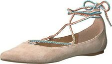 Steve Madden Emilie Blush Sued Flats, size 7 - New in Box