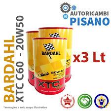 3 LITRI DI OLIO MOTORE ORIGINALE BARDAHL XTC 20W50 C60 313040