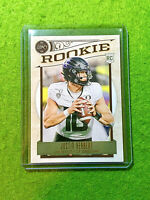 JUSTIN HERBERT LEGACY ROOKIE CARD JERSEY #10 OREGON 2020 Panini TRUE RC CHARGERS