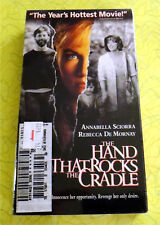 The Hand That Rocks the Cradle ~ New VHS Movie ~ Rebecca De Mornay Drama