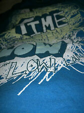 All Time Low Band, Blue Short Sleeve, T shirt, Medium, Used.
