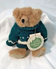 Mary Meyer Green Mountain Bears Sweater Haystack Classic Jointed Teddy with Tag