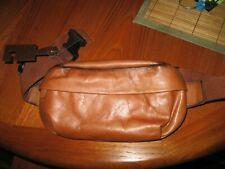 NWT Frye  38mm Leather Zip Belt Bag size L-XL TAN