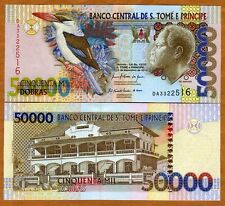 St Thomas & Prince, 50000 (50,000) Dobras, 2010, P-68-New, UNC > Kingfisher