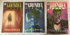 Grendel Tales Homecoming set #1-3 8.0 VF (1994 Dark Horse)