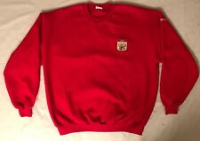 Men's Toyota Gator Bowl Embroidered Football NCAA L/S Crew Neck Sweatshirt L A2