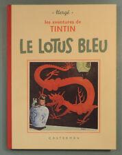 Tintin 5 Lotus Bleu Fac Simile NB Herge Casterman 1993