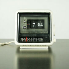 Cifras plegable radio despertador mesa reloj vintage universo w2740 flip Clock
