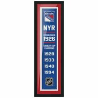 """New York Rangers Stanley Cup Champions Photo (Size: 8"""" x 24"""") Framed"""