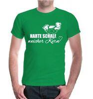 Herren Unisex Kurzarm T-Shirt Harte Schale, weicher Kern Schildkröte turtle