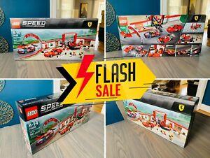 🔥 NEW! SEALED! RETIRED! LEGO Ferrari Ultimate Garage Speed Champions 75889 🔥