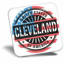 Awesome Fridge Magnet - Cleveland Ohio USA American Flag Cool Gift #6070