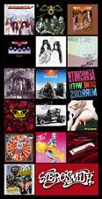 "AEROSMITH album cover discography magnet (5"" X 3"") led zeppelin rolling stones"