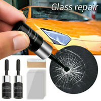 1 Kit Automotive Glass Nano Repair Fluid Car Window Glass Crack Chip Repair Tool