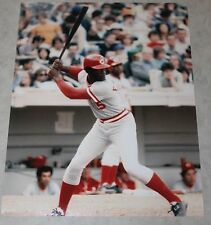 George Foster Cincinnati Reds unsigned color 8X10 photo MLB #15