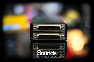 Summing Mixer BOX   D-SUB 16 Inputs   2 TRS Outputs   Balanced   Analog Summing