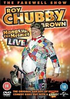 Roy Chubby Brown - Hangs Up the Helmet Live Brand New and Sealed UK Region 2 DVD