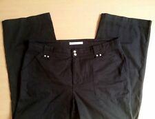 Damen Jeans Hose MAC Juli Gr 44 W34 L30 schwarz Baumwolle Top