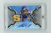 2007 Upper Deck SPX Adrian Peterson RPA RC Rookie Auto SP /299 Vikings #218