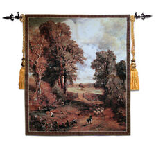 Tapestry  hanging painting living room background wall hanging wheat field new