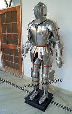 Medieval Knight Suit of Armor 17th Century Combat Full Body Wearable Armour Suit