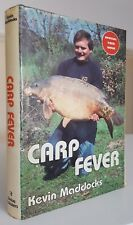 Hardback Carp Fever Kevin Maddocks 10th edn classic coarse fishing angling book