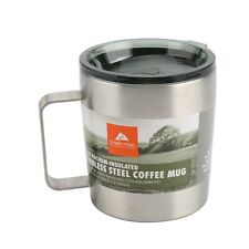 NEW 12oz Stainless Steel Coffee Mug Camping Hiking Insulated Cup Ozark Trail