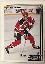 BILL GUERIN 1992-93 Upper Deck Star Rookie RC  # 411 DEVILS