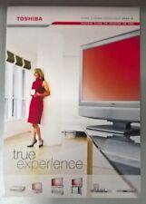 TOSHIBA Electronics Television &Home Entertainment Product Catalogue 2004 / 2005