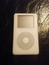 Apple iPod classic 4th Generation White (40 Gb)