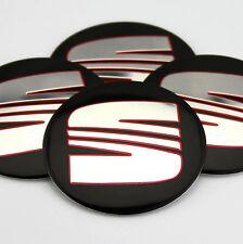 "4x 56mm 2.2"" Auto Car Wheel Center Hub Cap Emblems Sticker Badge Decal for fit"