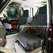 LAND ROVER DISCOVERY 2 TD5 - TAILORED & WATERPROOF FRONT SEAT COVERS - BLACK 148