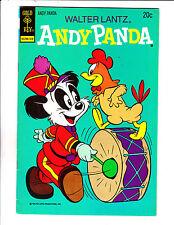"""Walter Lantz Andy Panda No 1-1973- """"Drum & Chicken Cover!  """""""