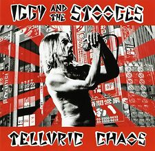 IGGY AND THE STOOGES 'Telluric Chaos' Japan 2004 sealed CD (jewelcase version)