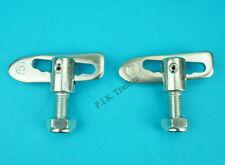 6 x Anti Luce M12 x 25mm /& Eye Plates Trailer Tail Gate Drop Side Catch Lock