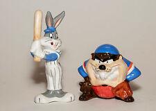 Bugs Bunny & Taz Baseball Salt & Pepper Shakers