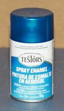 Testors Model Master Transparent Blue Enamel Spray Paint Can  3 oz.  1257